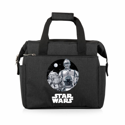 Star Wars Droids - On The Go Lunch Cooler, Black Perspective: front