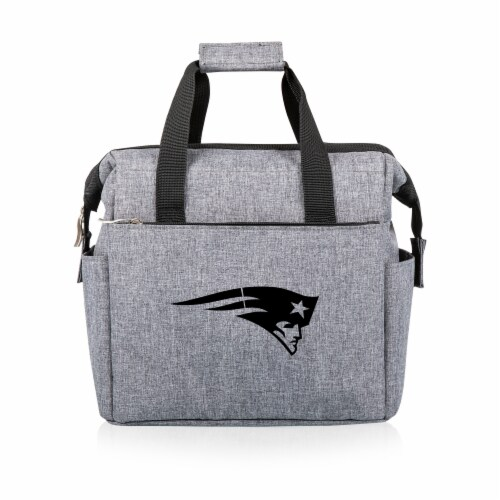 New England Patriots - On The Go Lunch Cooler Perspective: front
