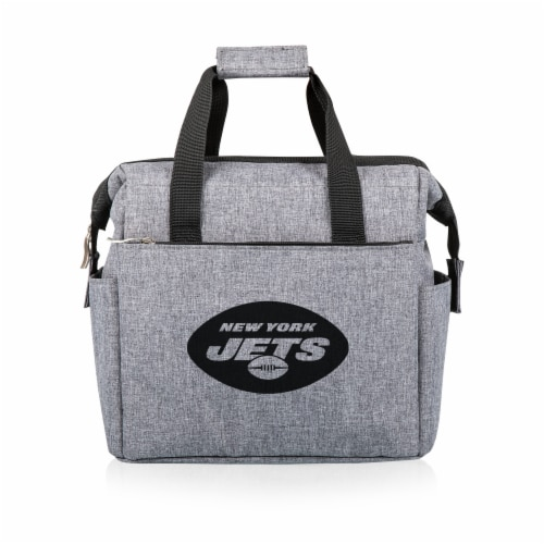 New York Jets - On The Go Lunch Cooler Perspective: front