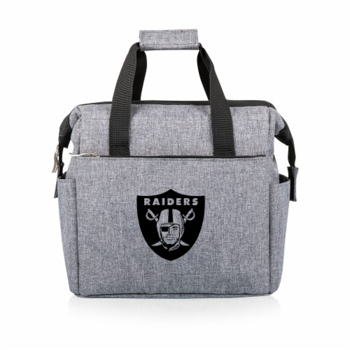 Las Vegas Raiders - On The Go Lunch Cooler Perspective: front