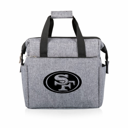 San Francisco 49ers - On The Go Lunch Cooler Perspective: front