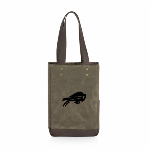 Buffalo Bills - 2 Bottle Insulated Wine Cooler Bag Perspective: front