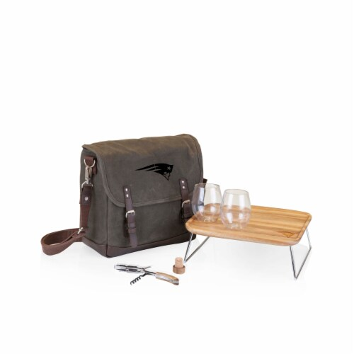 New England Patriots - Adventure Wine Tote Perspective: front