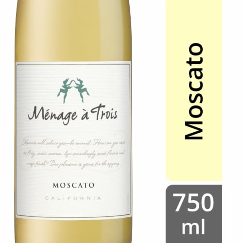Menage a Trois Moscato Perspective: front