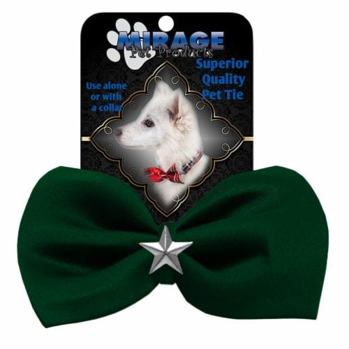 Silver Star Widget Pet Bowtie Brown Perspective: front