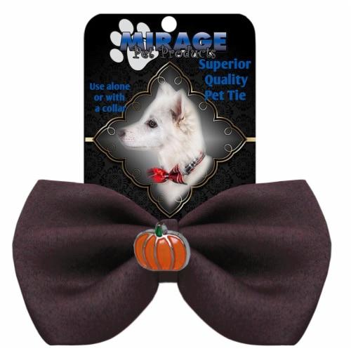 Pumpkin Widget Pet Bowtie Blue Perspective: front