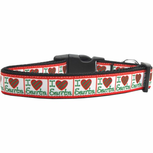 SS Cutie Nylon Dog Leash 5/8 inch wide 6ft Long Perspective: front