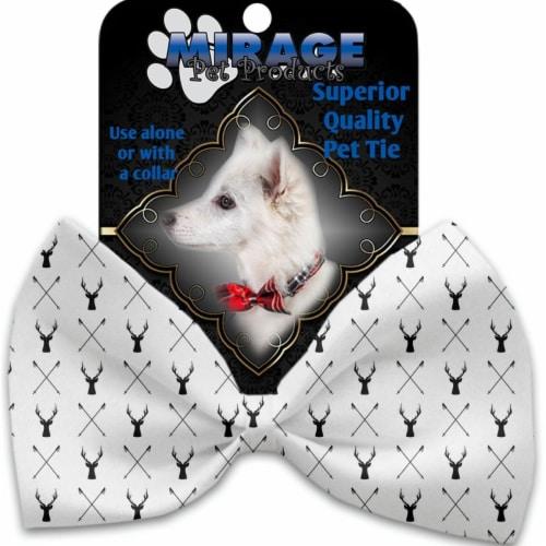Mirage Pet 1325-BT Deer Dreaming Pet Bow Tie Perspective: front