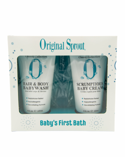 Baby's First Bath Kit Perspective: front