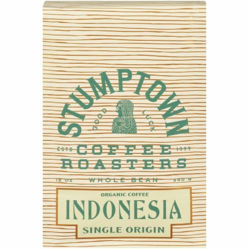Stumptown Coffee Organic Indonesia Single Origin Whole Bean Coffee Perspective: front