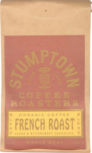 Stumptown Coffee French Roast Whole Bean Coffee Perspective: front