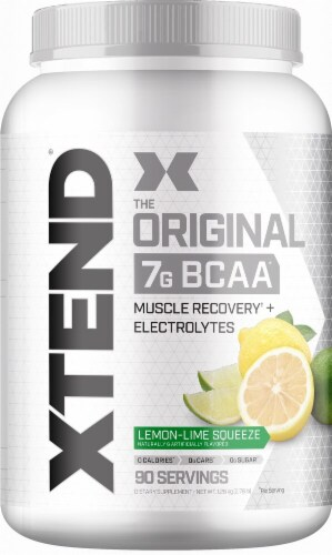 Xtend  The Original BCAA   Lemon-Lime Squeeze Perspective: front