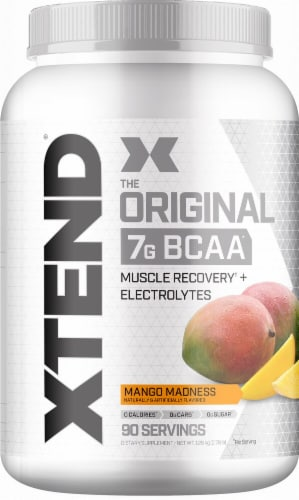 Xtend  The Original BCAA   Mango Madness Perspective: front