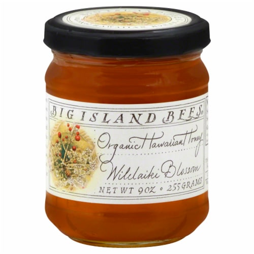 Big Island Bee Company Macadamia Nut Honey Perspective: front