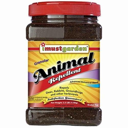 I Must Garden 252140 2.5 lbs Granular Animal Repellent Perspective: front