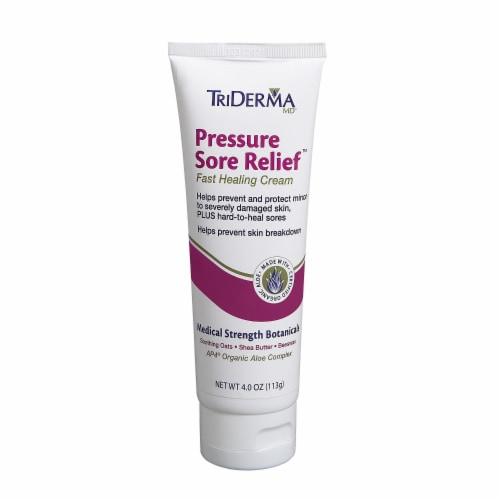 TriDerma Pressure Sore Relief Healing Cream Perspective: front