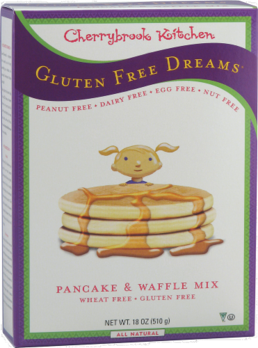 Cherrybrook Kitchen Gluten Free Pancake & Waffle Mix Perspective: front
