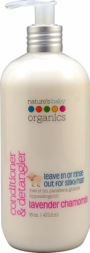 Nature's Baby  Organics™ Conditioner and Detangler Lavender Chamomile Perspective: front