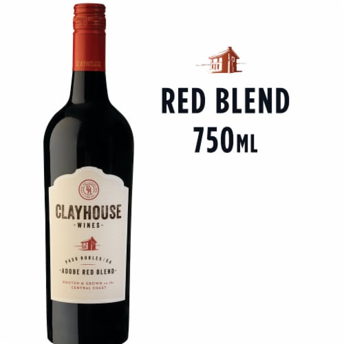 Clayhouse Adobe Red Wine Blend Perspective: front