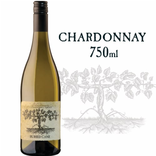 Buried Cane Chardonnay White Wine Perspective: front