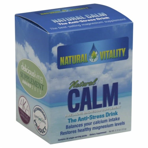 Natural Vitality Natural Calm Anti-Stress Drink Packets Perspective: front