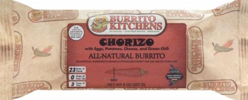Burrito Kitchens Chorizo & Egg Breakfast Burrito Perspective: front