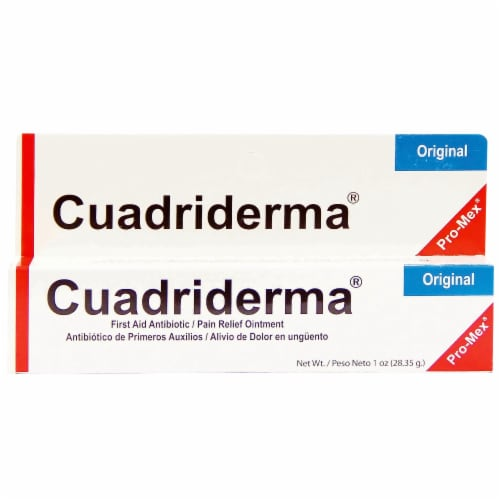 Pro-Mex Cuadriderma Original Crema Perspective: front