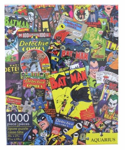 DC Comics Batman Comic Collage 1000 Piece Jigsaw Puzzle Perspective: front