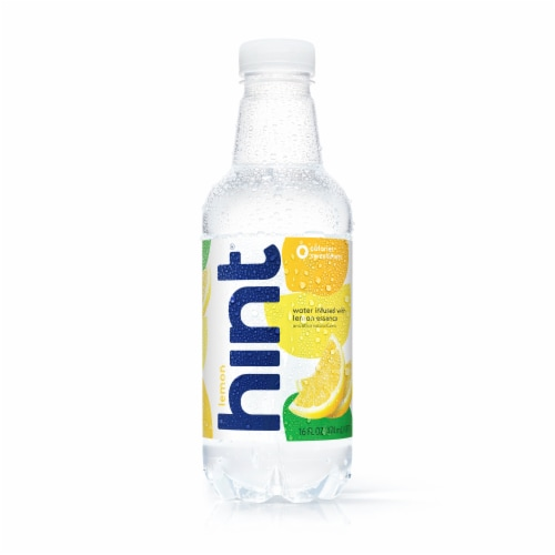 Hint Lemon Essence Infused Water Perspective: front
