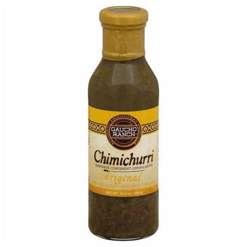 Gaucho Ranch Original Chimichurri Sauce Perspective: front