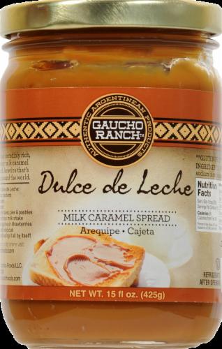 Gaucho Ranch Dulce De Leche Spread Perspective: front