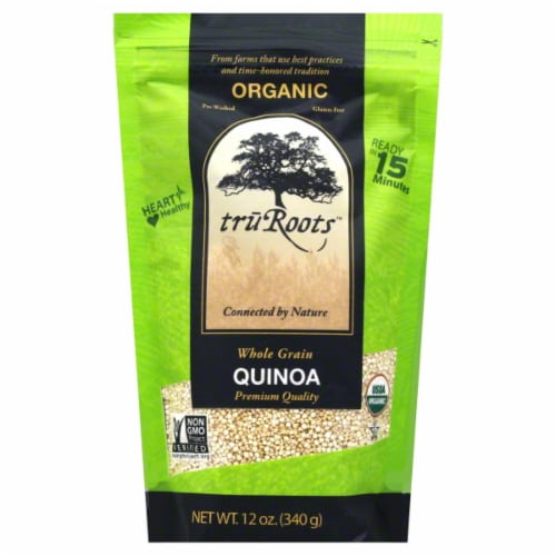 truRoots Organic Whole Grain Quinoa Perspective: front