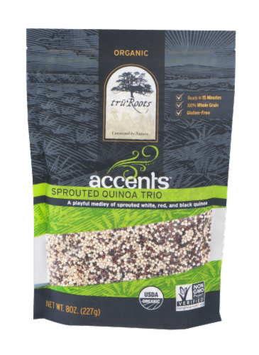 truRoots Accents Organic Sprouted Quinoa Trio Perspective: front