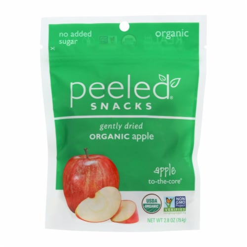 Peeled Snacks Organic Apple 2 The Core Perspective: front