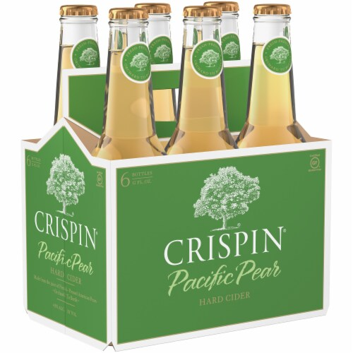Crispin Pacific Pear Gluten Free Hard Cider Perspective: front