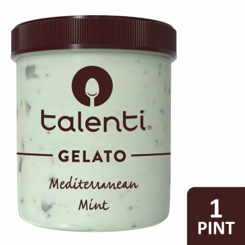 Talenti Mediterranean Mint Gelato Perspective: front