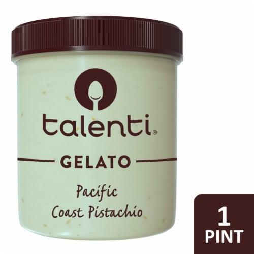 Talenti Sicilian Pistachio Gelato Ice Cream Perspective: front