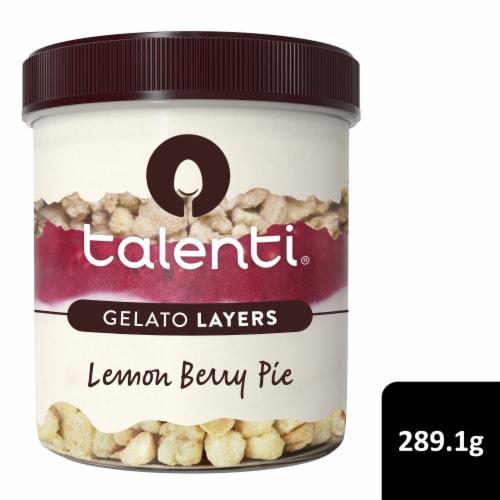 Talenti Gelato Layers Lemon Berry Pie Ice Cream Perspective: front