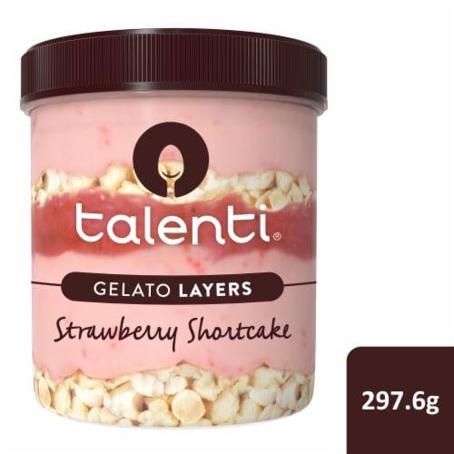 Talenti Gelato Layers Strawberry Shortcake Ice Cream Perspective: front