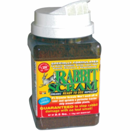 Enviro Protection Industries EPI11003 Rabbit Scram Repellent Granular Shaker Can  2.5-pound Perspective: front