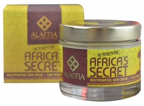 Alaffia  Authentic Africa's Secret Multipurpose Skin Cream Perspective: front
