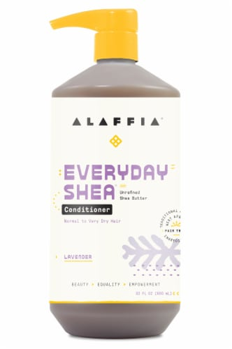 Alaffia Everyday Shea Lavender Conditioner Perspective: front