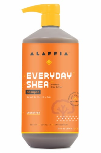 Alaffia Everyday Shea Unscented Shampoo Perspective: front