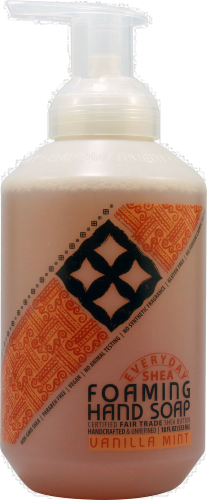 Alaffia Everyday Shea Vanilla Foaming Hand Soap Perspective: front