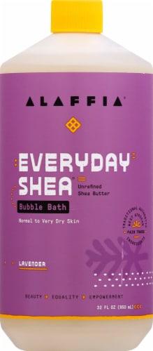 Alaffia  Bubble Bath Lavender Perspective: front