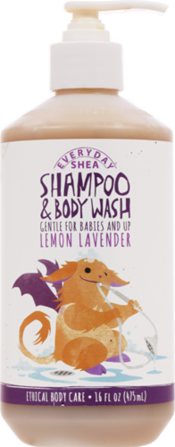 Everyday Shea Lemon Lavender Shampoo & Body Wash Perspective: front