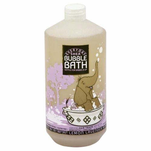 Everyday Shea Lemon Lavender Gentle Bubble Bath Perspective: front