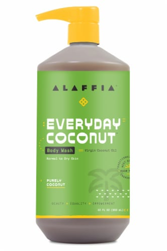 Alaffia Everyday Coconut Body Wash Perspective: front