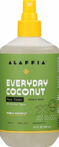 Alaffia Everyday Coconut Face Toner Perspective: front