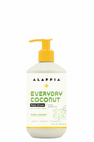 Alaffia Everyday Coconut Night Face Cream Perspective: front